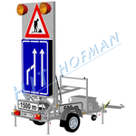 Photo: Warning trailer ZSP-1.1_01 Triangl CZ