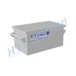 Photo: Small lockable battery box UZA-M/M