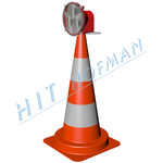 Photo: Traffic cone with lamp DKL-75 LED
