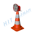 Photo: Traffic cone with lamp DKL-50 LED