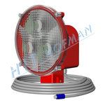 Photo: Signalling lamp SLSU-1.K LED cinch