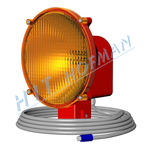 Photo: Signalling halogen lamp SHS10-1.K cinch