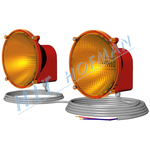 Photo: Signalling halogen lamps 12V=