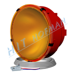 Photo: Advance warning halogen lamps