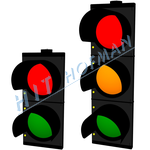 Photo: Traffic lights 300mm LED
