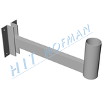 Photo: Wall-mounting bracket for DZ ø76/530mm