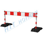 Photo: Portable barrier LZ-Z2-2-SS