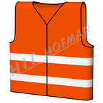 Photo: High visibility vest - orange