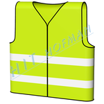 Photo: High visibility vest - Yellow-green