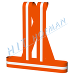 Photo: High visibility brace - Orange