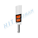 Photo: Crash barrier marker post SvPS-30 flexible