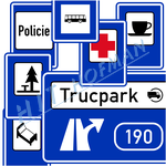 Photo: Traffic information signs - other