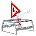 Photo: Traffic sign container KDZ-16