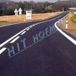 Photo: Road paint LimboRoute K 835 HS (High-Solid)