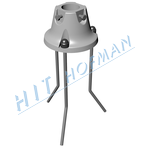 Photo: Circural aluminium socket HPK 60